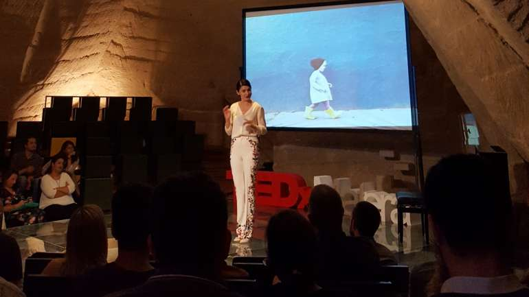 Check point Margarita/TEDx Talk